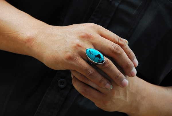 A Turquoise Ring