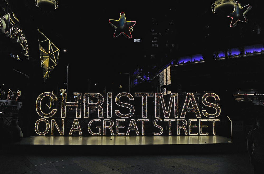 Christmas Light-Up : Orchard Road, Singapore
