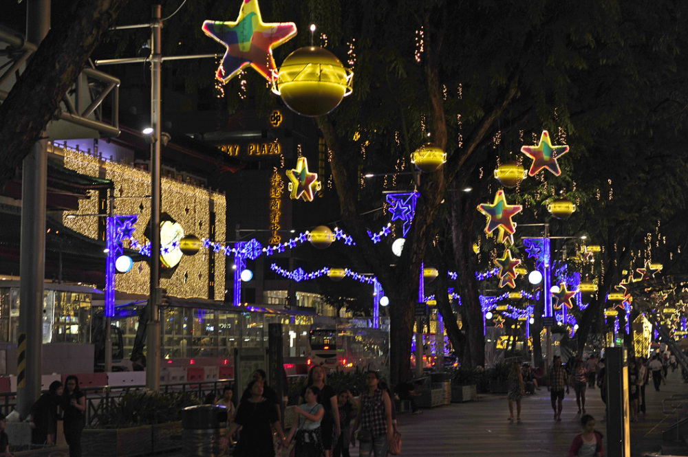 Christmas Season : Orchard Road, Singapore
