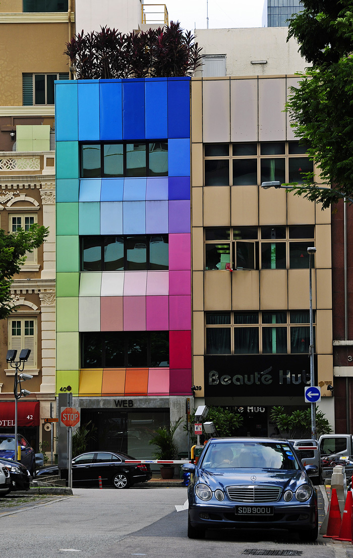 Colourful Building, Chinatown, Singapore