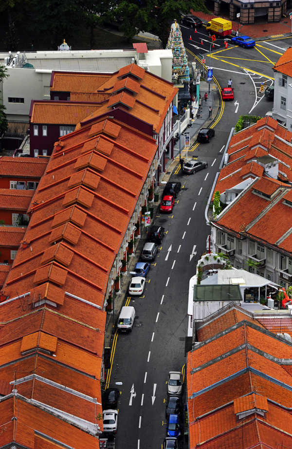 Rooftops of Old Singapore