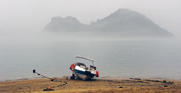 A Boat on the Beach