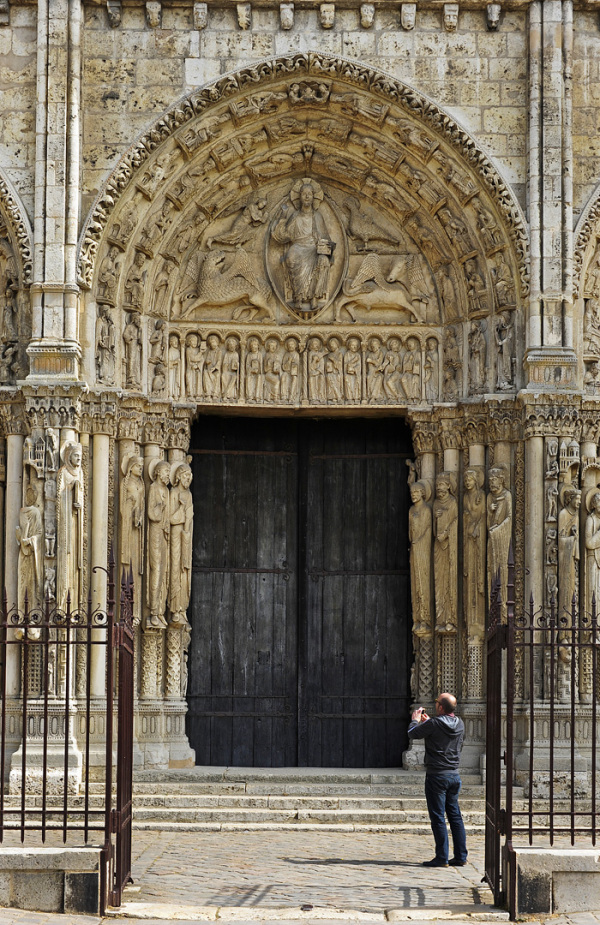 Chartres Cathedral door