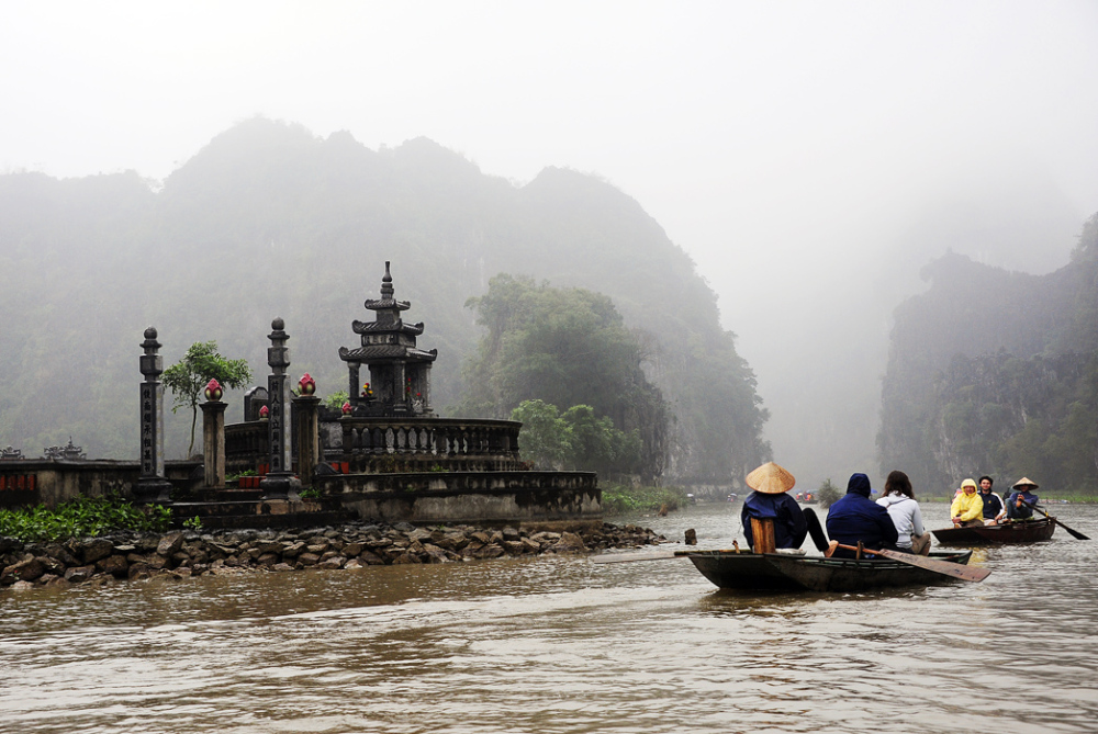 Rainy Day in Tam Coc