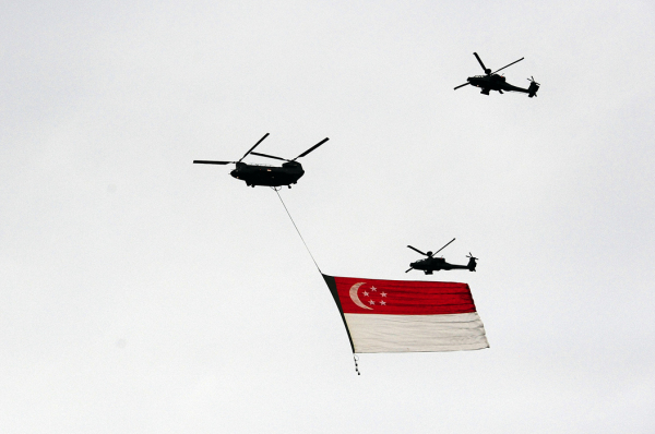 National Day - Flying the Flag