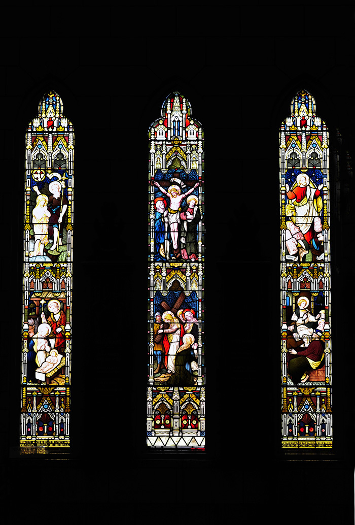 Stained-Glass Windows of Nelson Cathedral