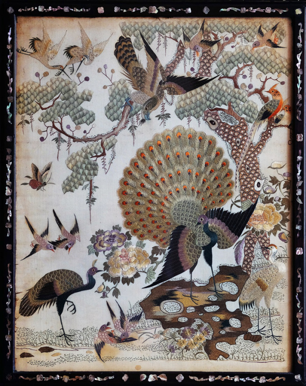 Embroidery - Birds