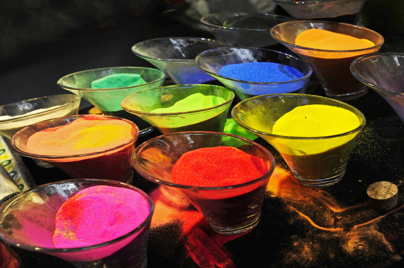Coloured Sand