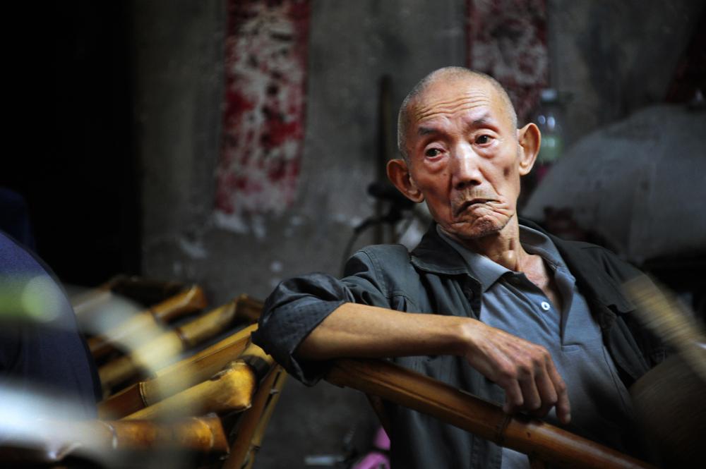 Man in a Teahouse - Chengdu