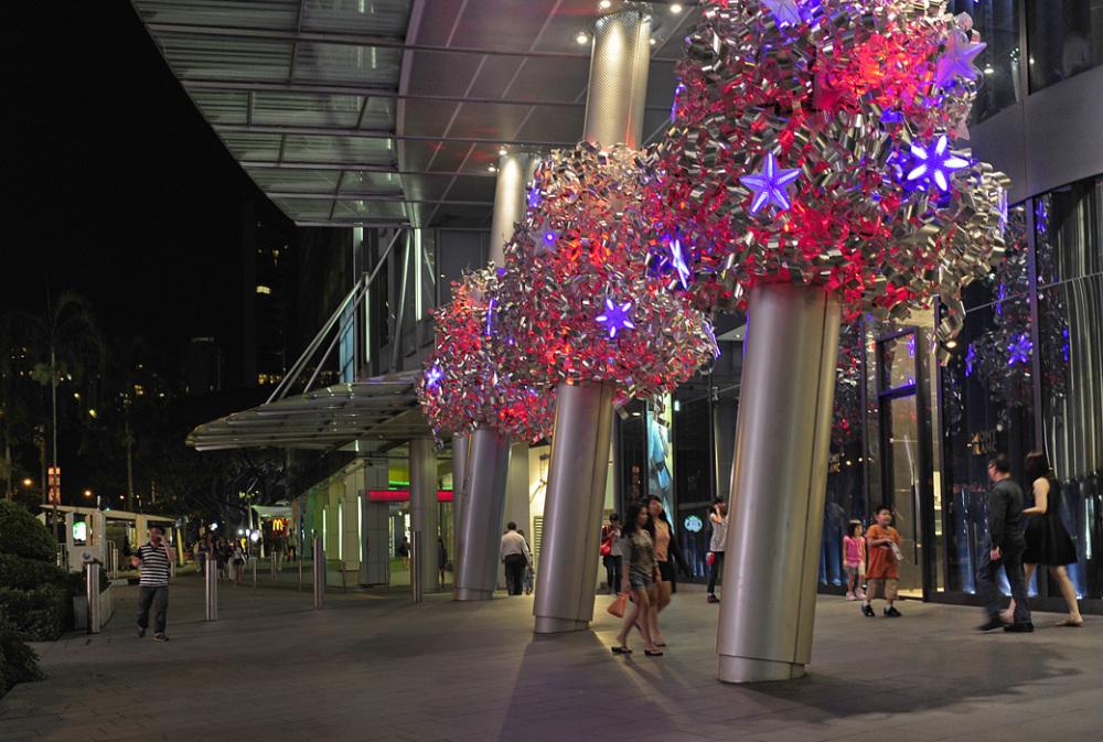 Night Shopping - Singapore