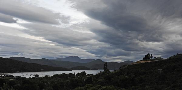 Dusk - Picton, New Zealand