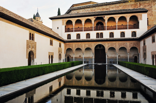 Alhambra - Reflecting Pool at Dusk