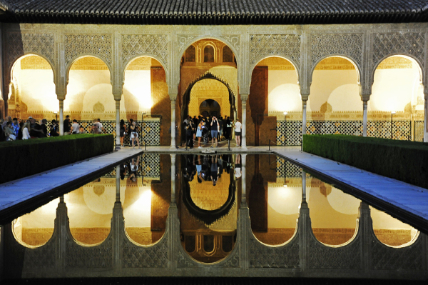 Reflecting Pool at the Alhambra (Granada)