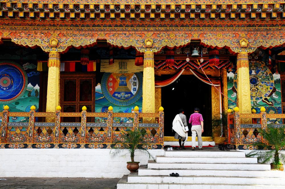 Punakha Dzong - Interior