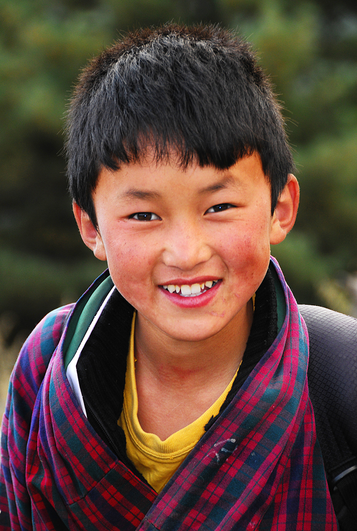 Children of Bhutan #1
