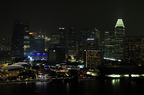 Singapore by Night - Suntec City Area