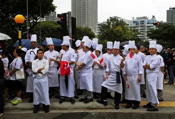 Too Many Cooks .....