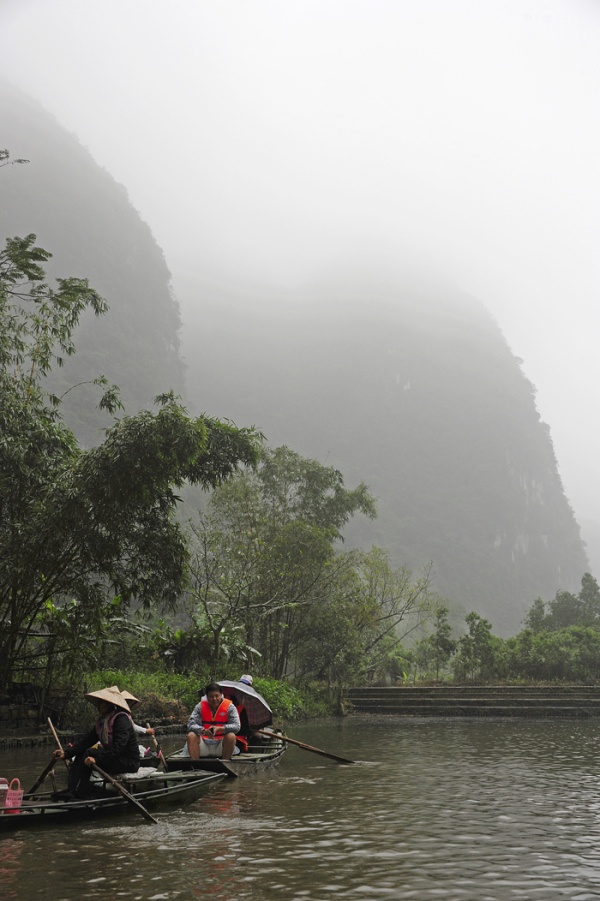 Misty Morning in Tam Coc (Vietnam)