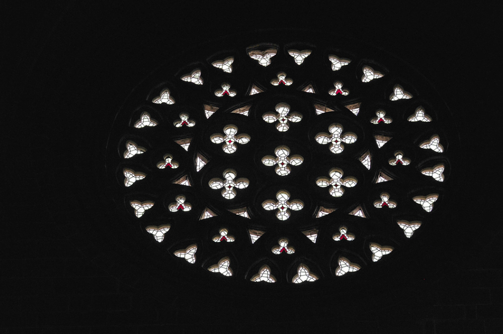 Rose Window at Avila Cathedral