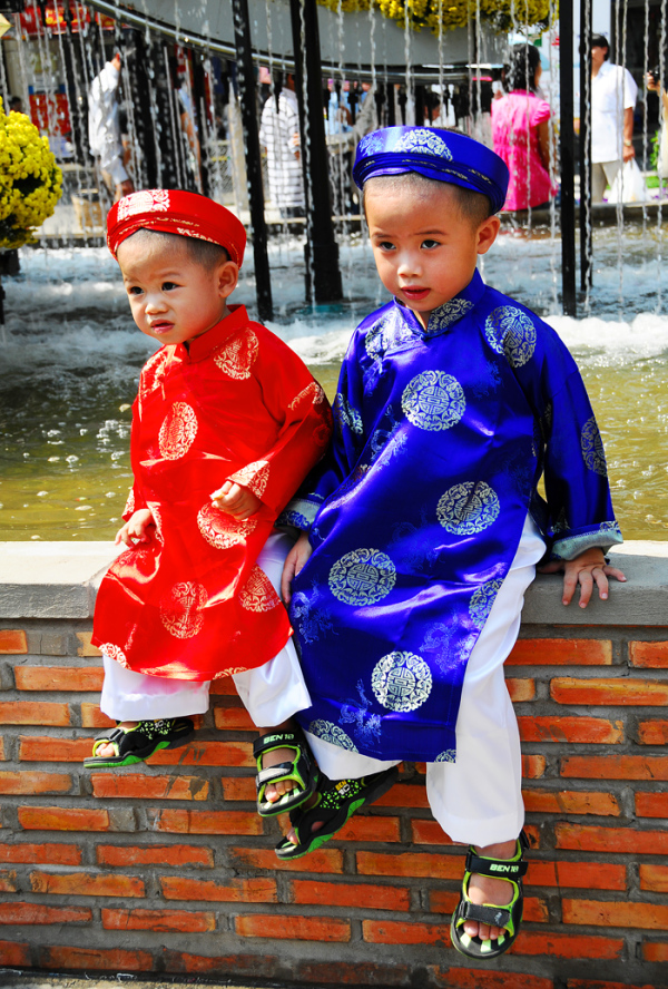 Two Vietnamese Boys