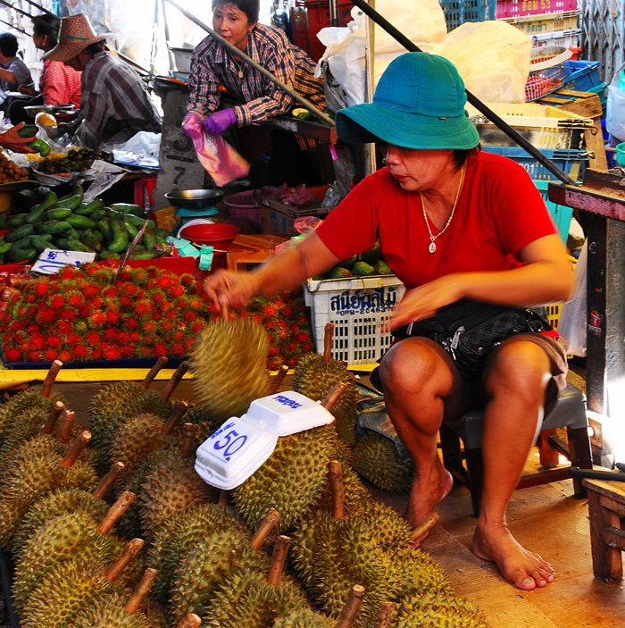 Durian Seller