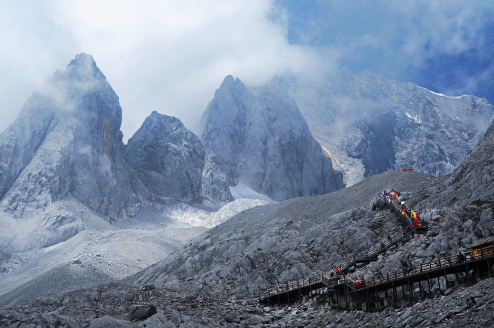 Jade Dragon Mountain Summit, Yunnan