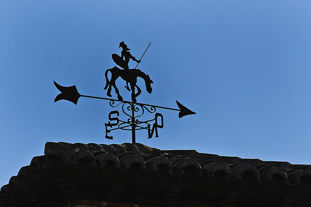 Don Quixote Windvane in Toledo