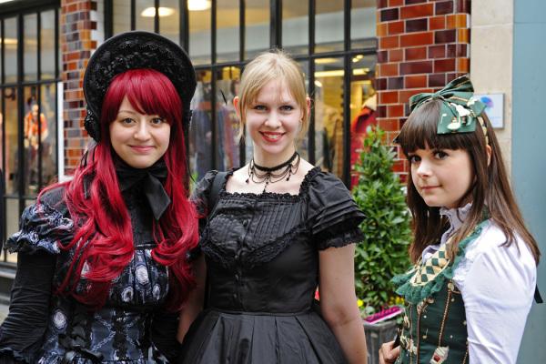 Girls of Carnaby Street, London