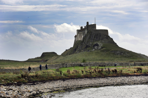 Castle at Lindisfarne