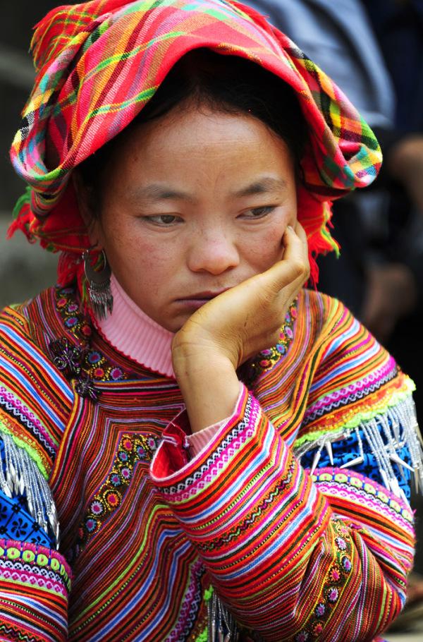 Flower H'Mong Girl (Vietnam)