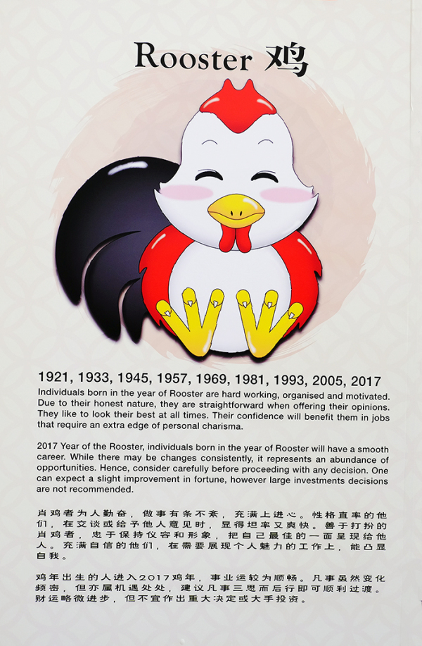 Chinese Zodiac - the Rooster