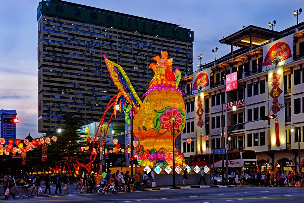 Chinese New Year lanterns - Chinatown, Singapore