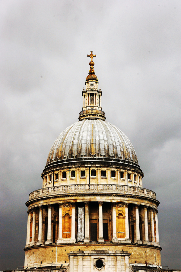 Dome of St Paul's Cathedral. London