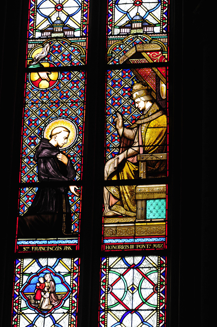 Stained Glass of Orleans Cathedral