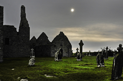 Clonmacnoise   an early monastic site in Ireland