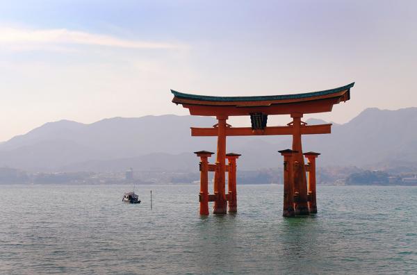 Torii Gate at Miyajima