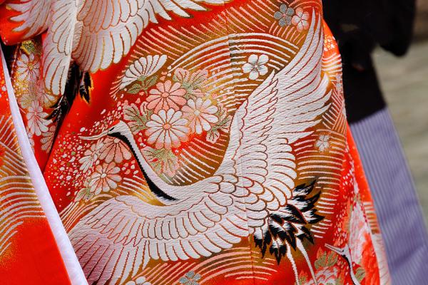 Kimono - Crane