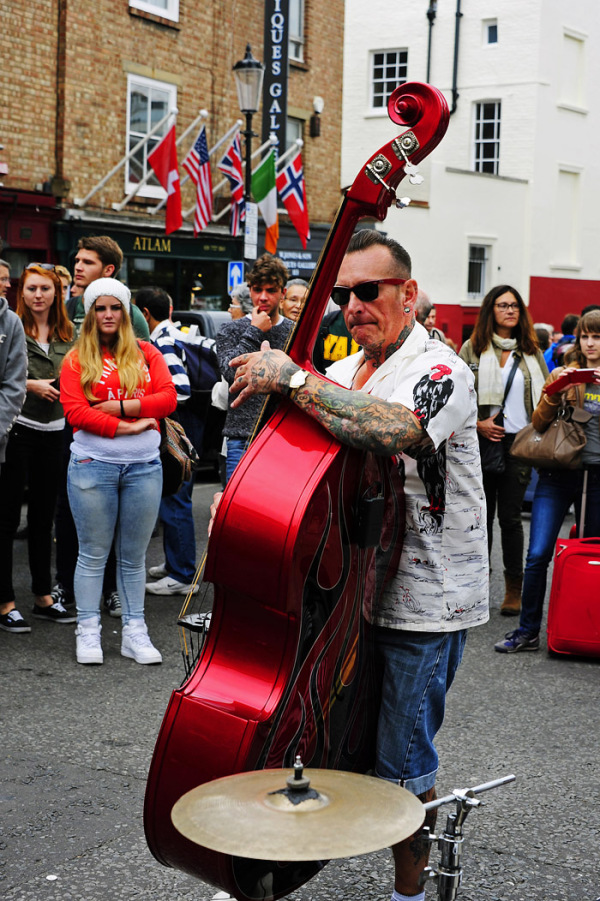 Busker - Portobello Road, London