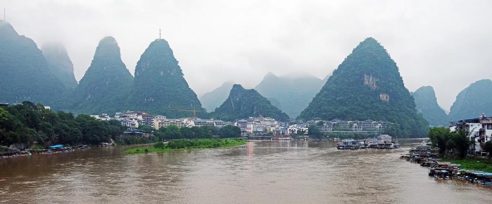 Riverside Town, Guangxi, China