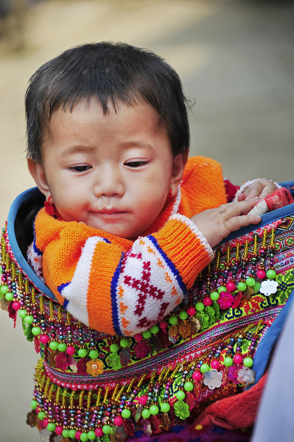 Flower H'Mong Child (Vietnam)