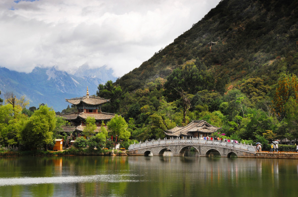 Black Dragon Pool, Lijiang, Yunnan Province