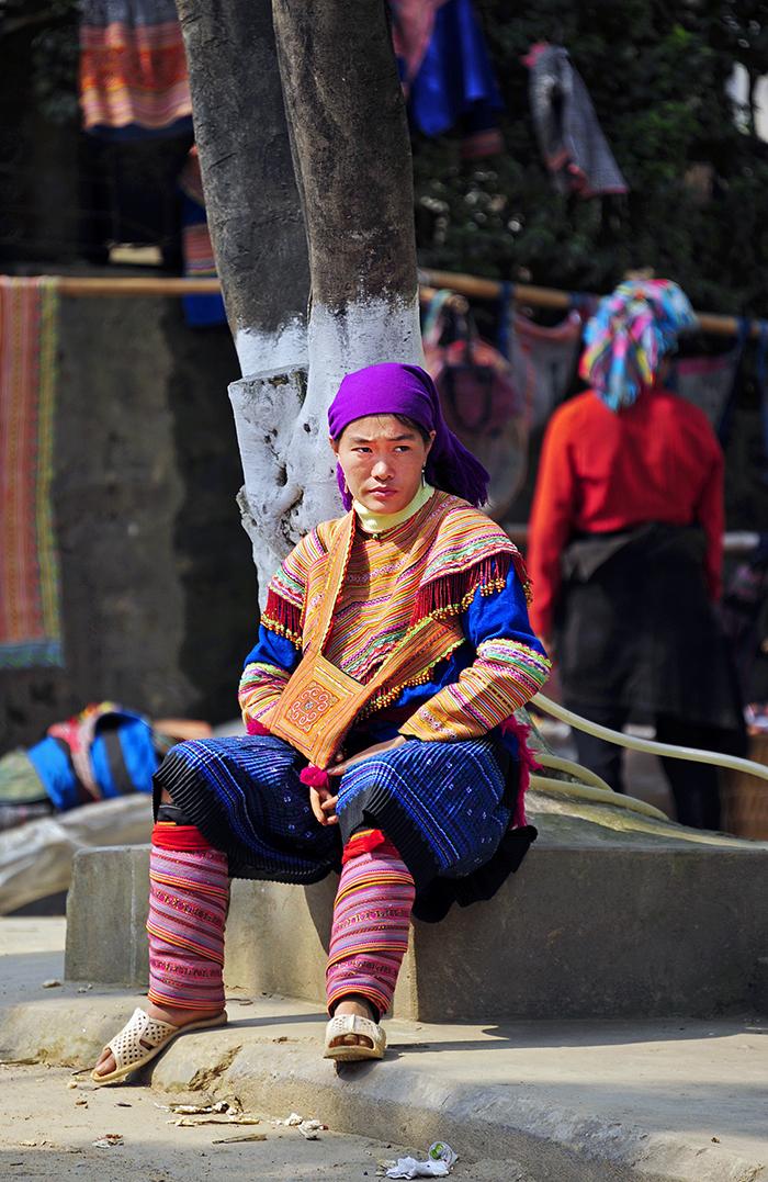 Flower H'Mong Woman