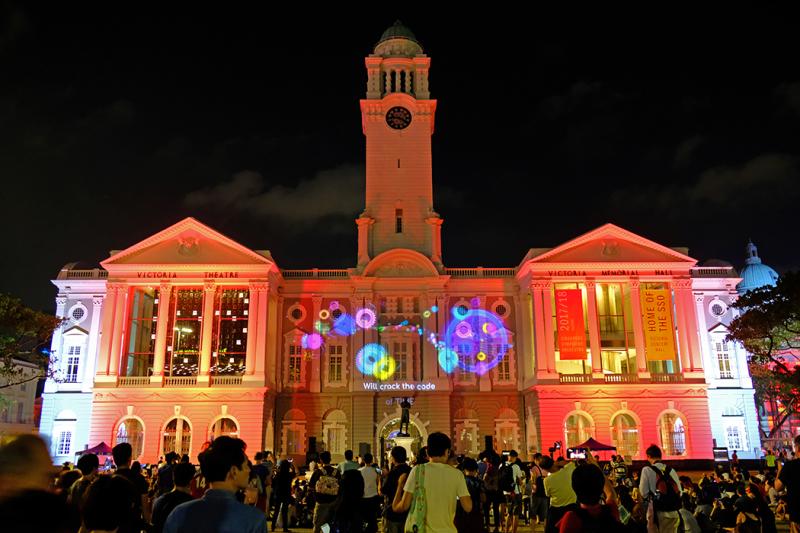 Victoria Theatre and Concert Hall, Singapore
