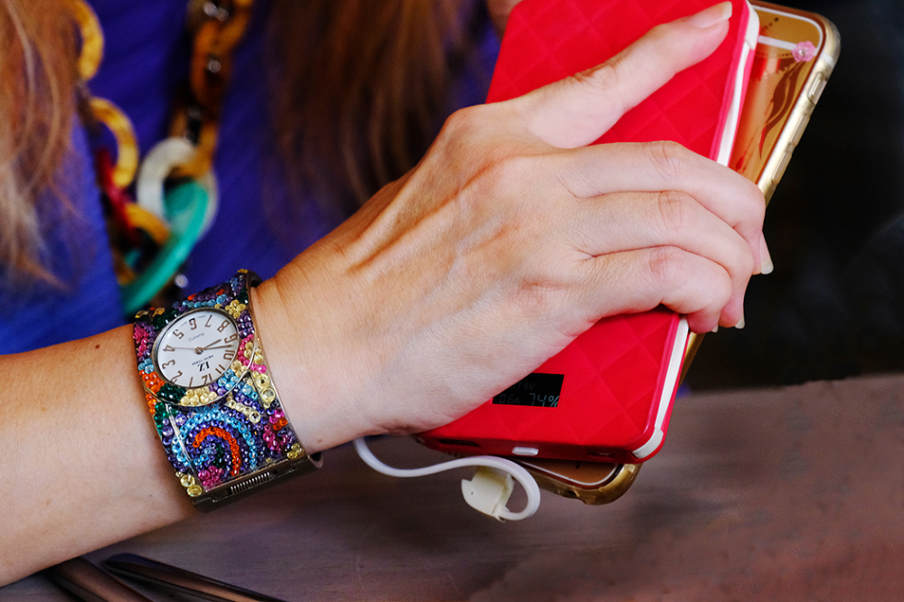 A Watch & Two Smart Phones