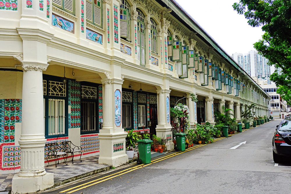 Traditional Houses at Petain Court, Singapore
