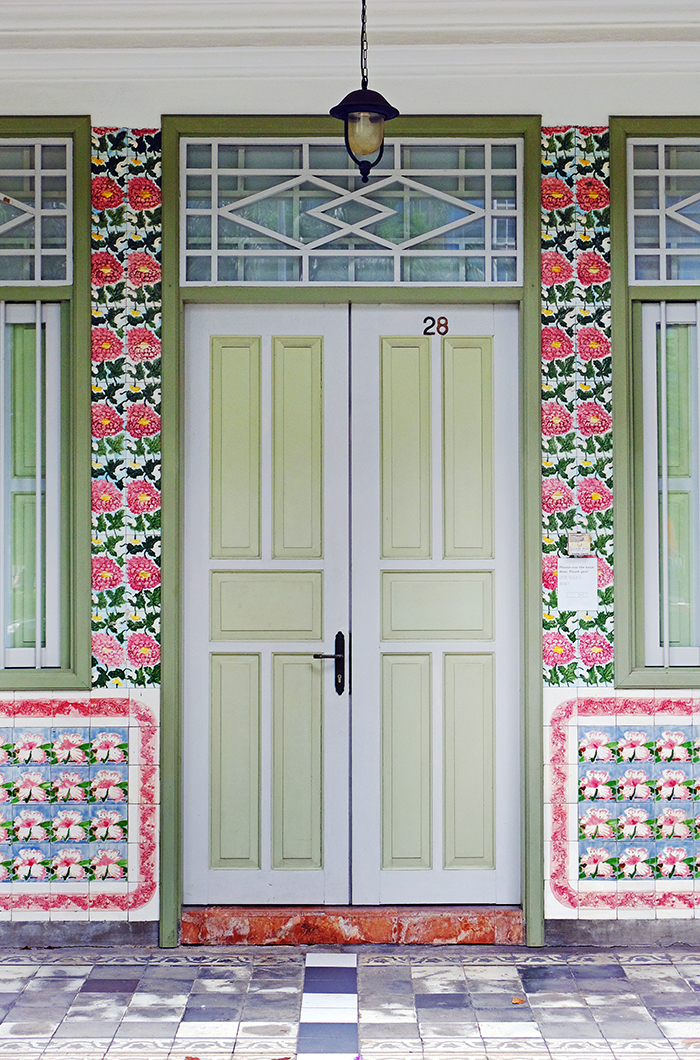 Door at Petain Court, Singapore