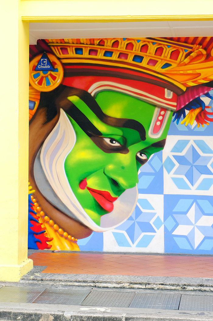 Street Art - Little India, Singapore.