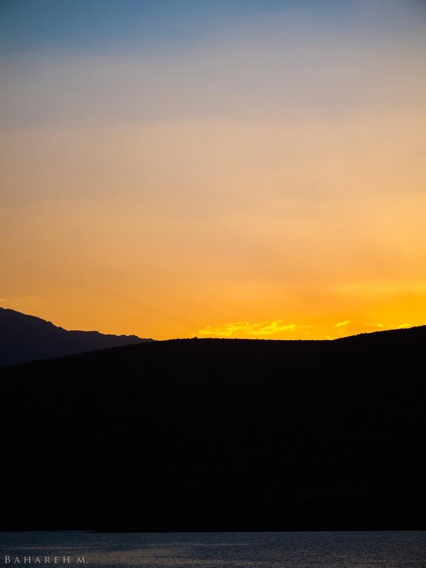 Dam Sunset