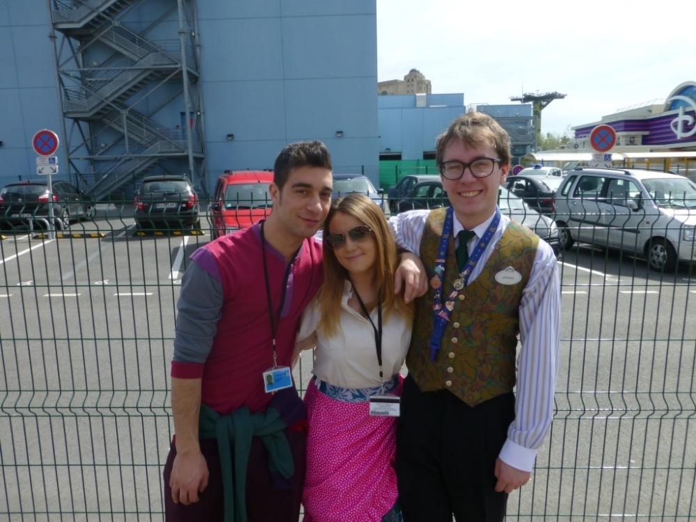 Giorgio, Danielle and Magnus
