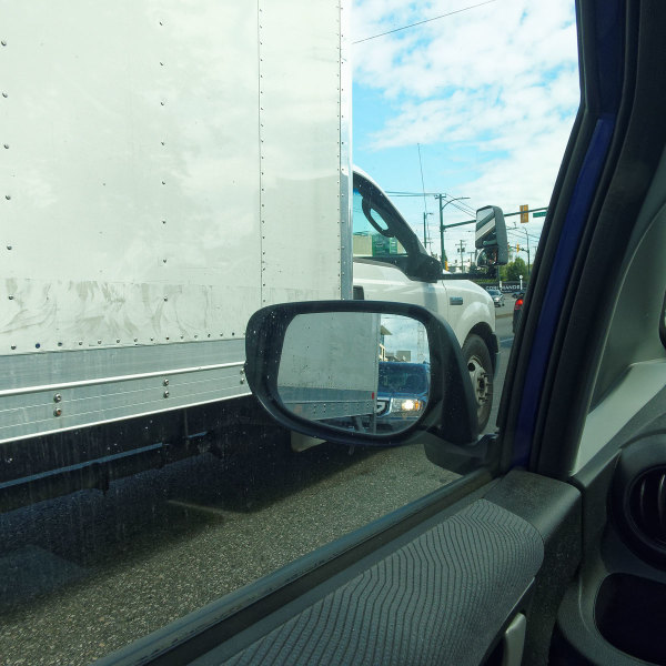Truck and Mirror